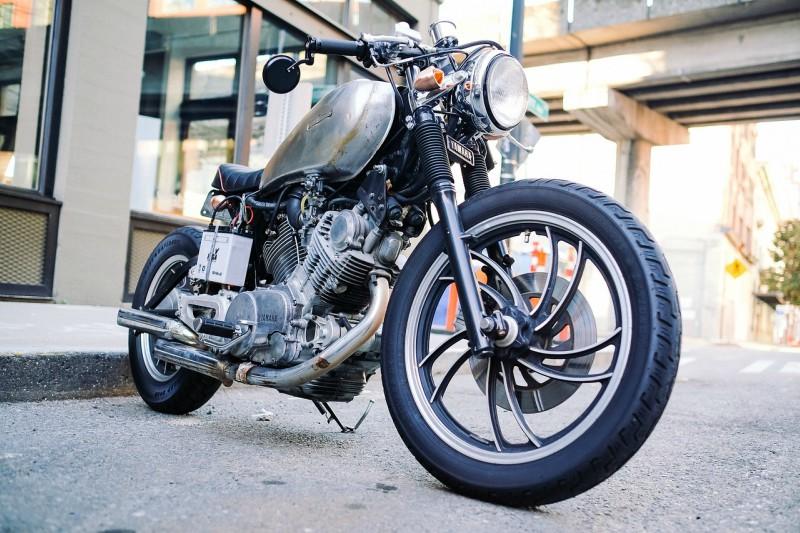 Ročno čiščenje vseh vrst motornih koles